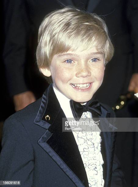 Actor Ricky Schroder attends the 51st Annual Academy Awards on April 2 1979 at Dorothy Chandler Pavilion in Los Angeles California