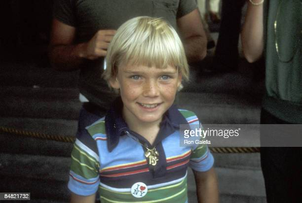 Actor Ricky Schroder attends the Eighth Annual Robert F Kennedy Pro/Celebrity Tennis Tournament Promotion Party on August 14 1979 at Plaza Hotel in...