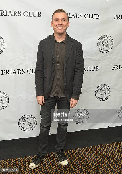 Actor Ricky Schroder attends The Friars Club 'So You Think You Can Roast' Celebrating Ricky Schroder at New York Friars Club on March 1 2013 in New...