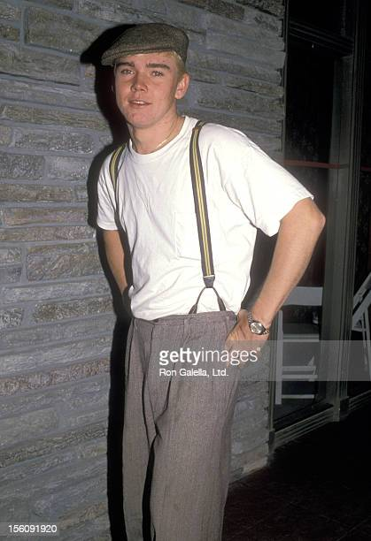 Actor Ricky Schroder attends the 'Halloween for Hope' Costume Party to Benefit The City of Hope on October 28 1988 at 20th Century Fox Studios in...