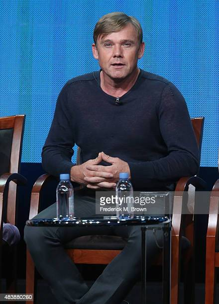 Actor Ricky Schroder speaks onstage during NBC's 'Dolly Parton's Coat of Many Colors' panel discussion at the NBCUniversal portion of the 2015 Summer...