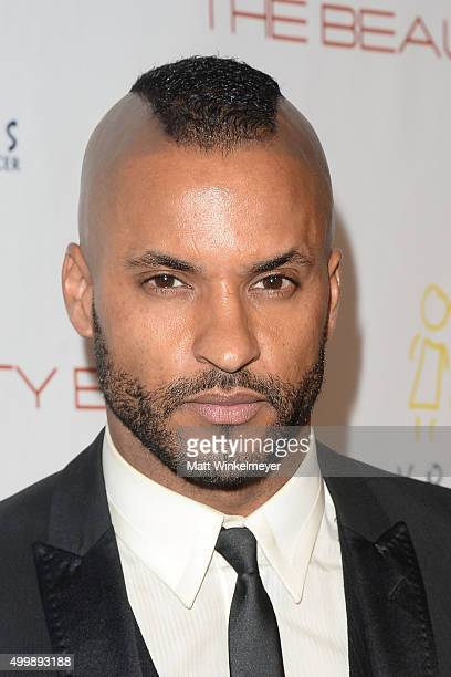 Actor Ricky Whittle arrives at 'The Beauty Book For Brain Cancer' Edition 2 Launch Party at Le Jardin on December 3 2015 in Hollywood California