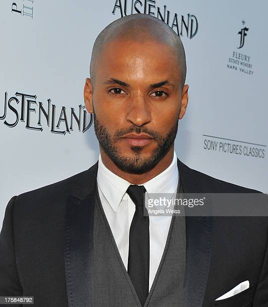Actor Ricky Whittle arrives at the premiere of 'Austenland' at ArcLight Hollywood on August 8 2013 in Hollywood California