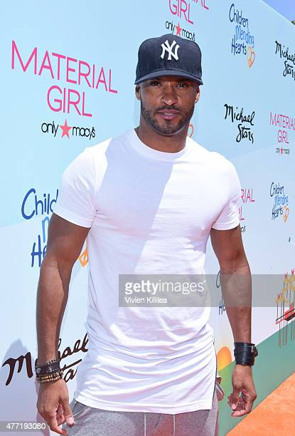 Actor Ricky Whittle attends Children Mending Hearts 7th Annual Fundraiser Presented By Material Girl And Michael Stars on June 14 2015 in Malibu...
