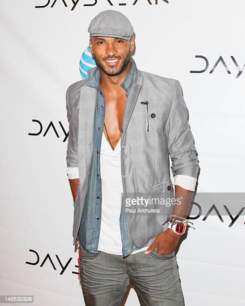 Actor Ricky Whittle attends the 'Daybreak' Los Angeles premiere at the Sunset Tower on May 31 2012 in West Hollywood California