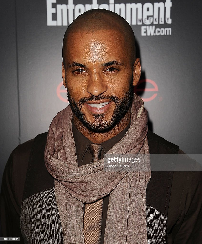 Actor Ricky Whittle attends the Entertainment Weekly Screen Actors Guild Awards pre-party at Chateau Marmont on January 26, 2013 in Los Angeles, California.