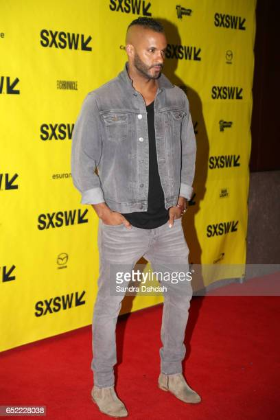 Actor Ricky Whittle attends the premiere of 'American Gods' during 2017 SXSW Conference and Festivals at Vimeo on March 11 2017 in Austin Texas