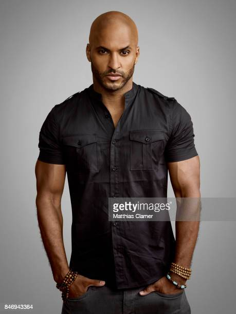 Actor Ricky Whittle from 'American Gods' is photographed for Entertainment Weekly Magazine on July 22 2016 at Comic Con in the Hard Rock Hotel in San...