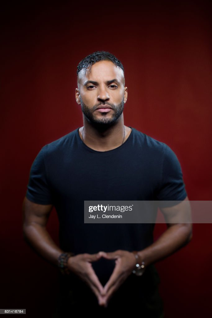 Actor Ricky Whittle, from the television series 'American Gods,' is photographed in the L.A. Times photo studio at Comic-Con 2017, in San Diego, CA on July 21, 2017.
