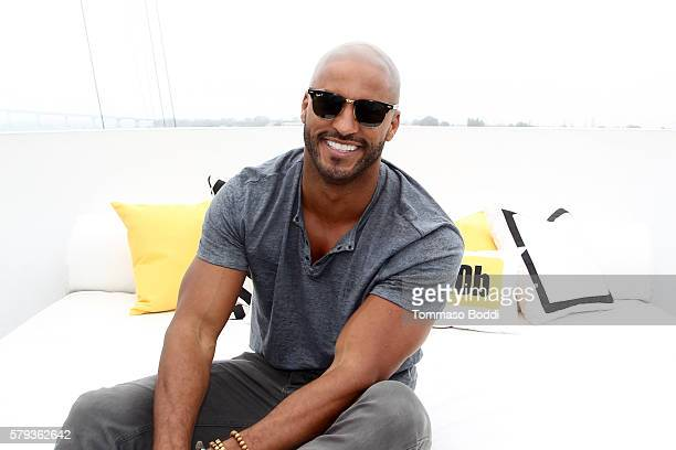 Actor Ricky Whittle of American Gods attends the IMDb Yacht at San Diego ComicCon 2016 Day Three at The IMDb Yacht on July 23 2016 in San Diego...