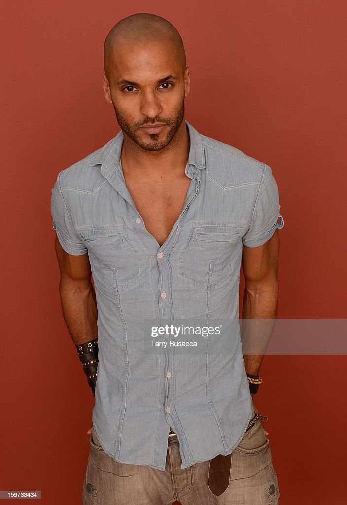 Actor <a gi-track='captionPersonalityLinkClicked' href=/galleries/search?phrase=Ricky+Whittle&family=editorial&specificpeople=3358286 ng-click='$event.stopPropagation()'>Ricky Whittle</a> poses for a portrait during the 2013 Sundance Film Festival at the Getty Images Portrait Studio at Village at the Lift on January 19, 2013 in Park City, Utah.