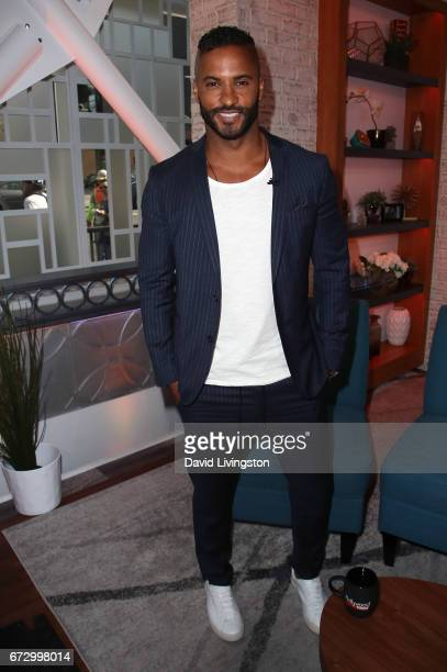 Actor Ricky Whittle visits Hollywood Today Live at W Hollywood on April 25 2017 in Hollywood California