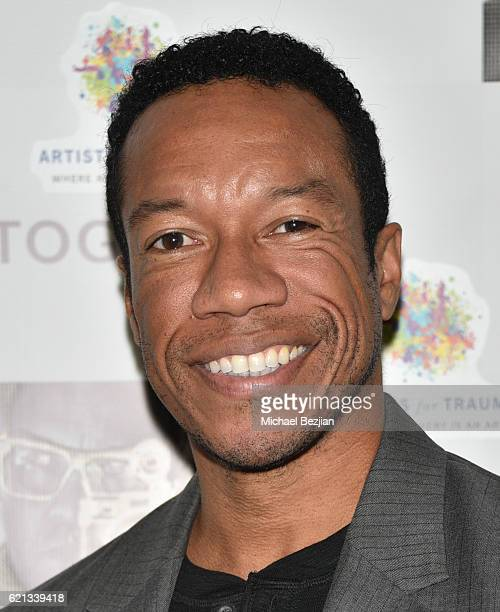 Actor Rico E Anderson arrives at Sur Le Mur presents The Premiere Opening of Per Bernal's Fine Art Photography Studio In Los Angeles on November 5...