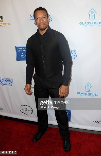 Actor Rico E Anderson arrives for the Premiere Of Glass House Distributions' 'Dropping The Soap' held at Writers Guild Theater on March 7 2017 in...