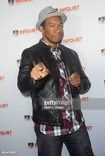 Actor Rico E Anderson attends Jeff Gund's INFOLISTcom's Annual PreComicCon Party held at OHM Nightclub on July 13 2017 in Hollywood California