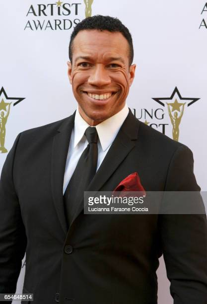 Actor Rico E Anderson attends the 38th Annual Young Artists Awards at Alex Theatre on March 17 2017 in Glendale California