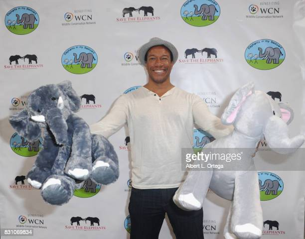 Actor Rico E Anderson attends the Celebration for World Elephant Day Hosted By Elephants In My Backyard held at Trunk Club on August 12 2017 in...