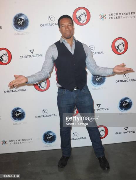 Actor Rico E Anderson attends Yuri's Night LA held on April 8 2017 in Los Angeles California