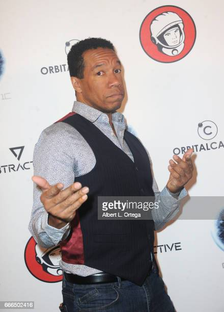 Actor Rico E Anderson attends Yuri's Night LA held on April 8 2017 in Los Angeles California
