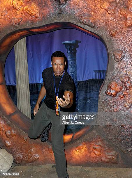 Actor Rico E Anderson on day 4 of Creation Entertainment's Official Star Trek 50th Anniversary Convention at the Rio Hotel Casino on August 6 2016 in...