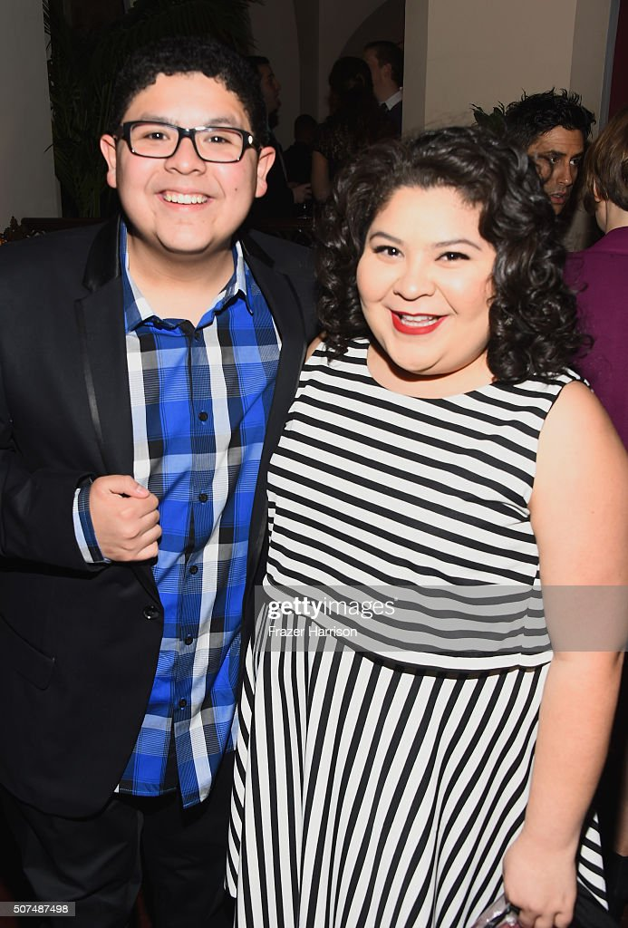 Actor Rico Rodriguez and actress Raini Rodriguez attend Entertainment Weekly Celebration Honoring The Screen Actors Guild Awards Nominees presented...