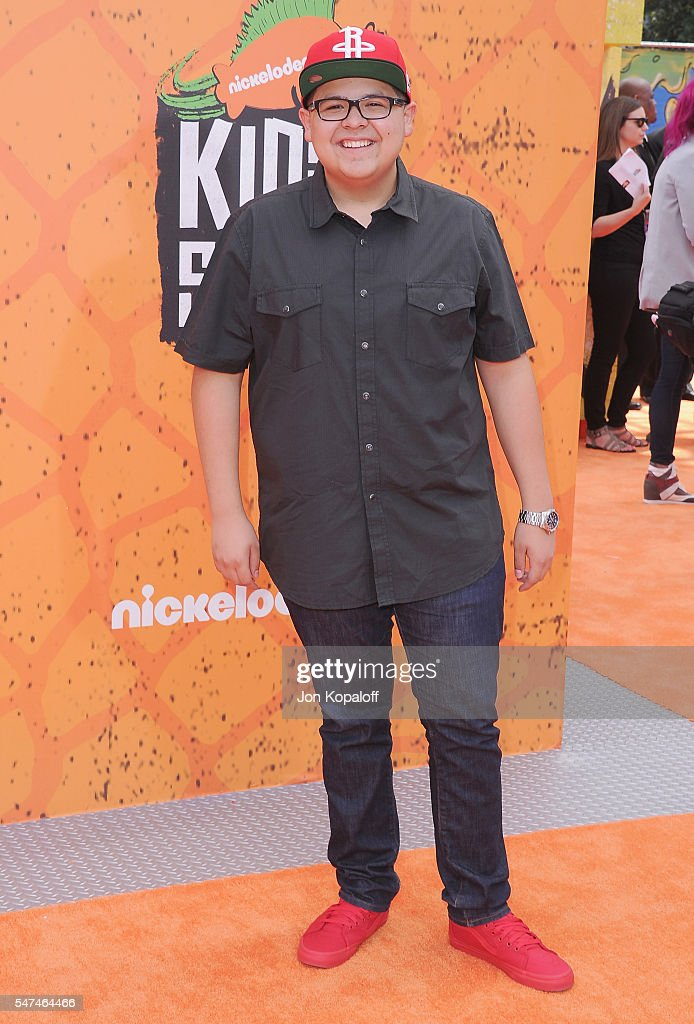 Actor Rico Rodriguez arrives at Nickelodeon Kids' Choice Sports Awards 2016 at UCLA's Pauley Pavilion on July 14 2016 in Westwood California