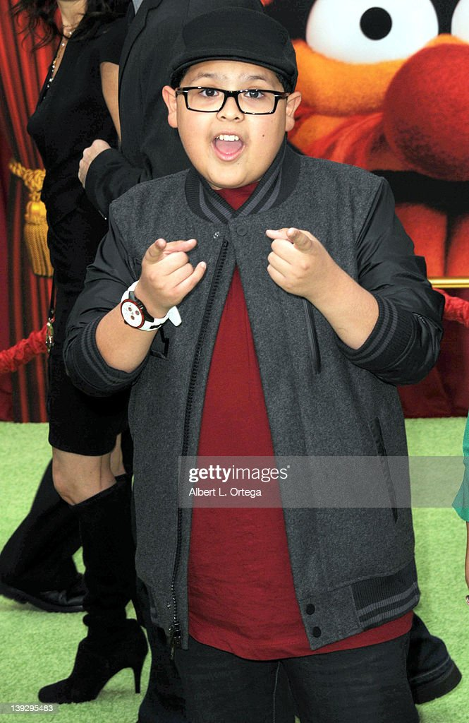 Actor Rico Rodriguez arrives for 'The Muppets' Los Angeles Premiere held at the El Capitan Theatre on November 12, 2011 in Hollywood, California.