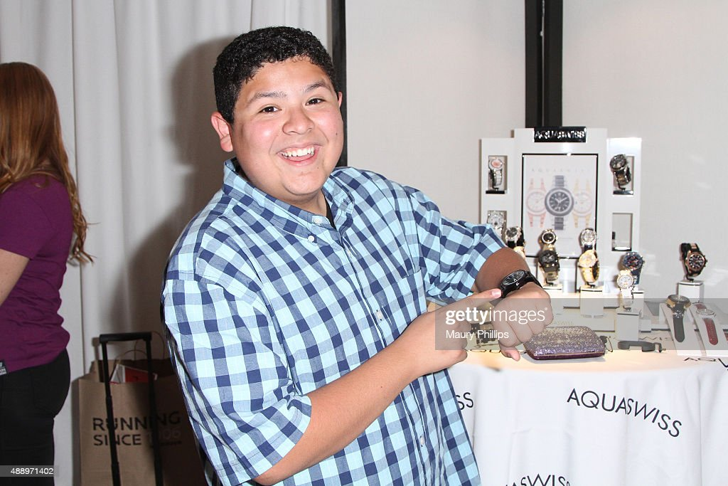 Actor Rico Rodriguez attends EXTRA's 'WEEKEND OF | LOUNGE' produced by On 3 Productions at The London West Hollywood on September 18 2015 in West...