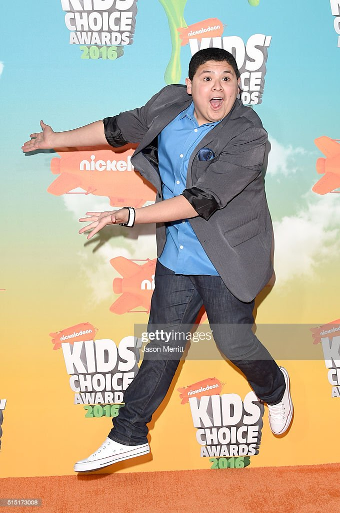 Actor Rico Rodriguez attends Nickelodeon's 2016 Kids' Choice Awards at The Forum on March 12 2016 in Inglewood California