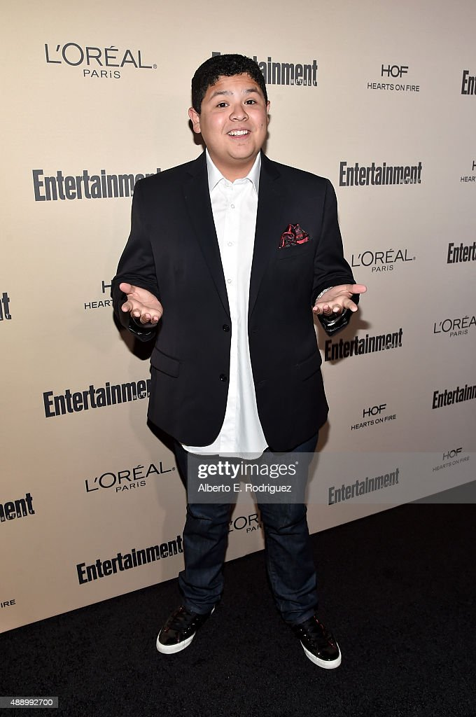 Actor Rico Rodriguez attends the 2015 Entertainment Weekly PreEmmy Party at Fig Olive Melrose Place on September 18 2015 in West Hollywood California