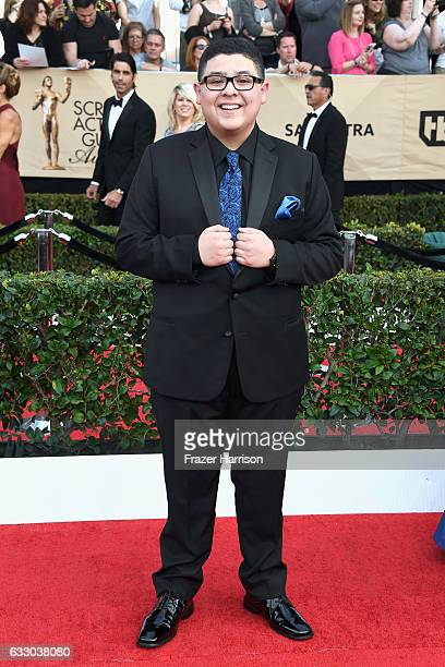 Actor Rico Rodriguez attends The 23rd Annual Screen Actors Guild Awards at The Shrine Auditorium on January 29 2017 in Los Angeles California...