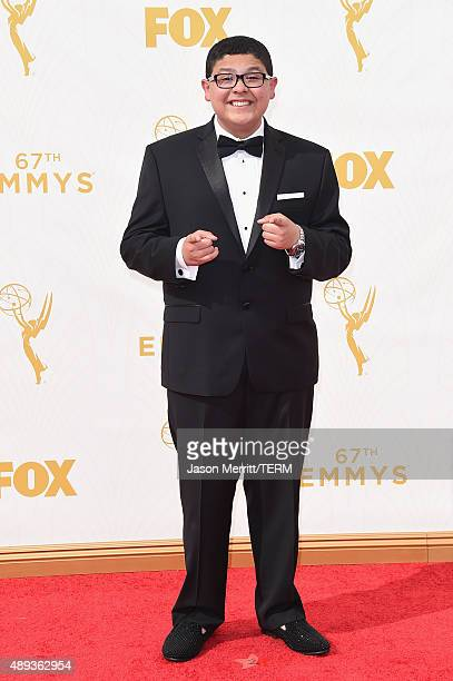 Actor Rico Rodriguez attends the 67th Annual Primetime Emmy Awards at Microsoft Theater on September 20 2015 in Los Angeles California