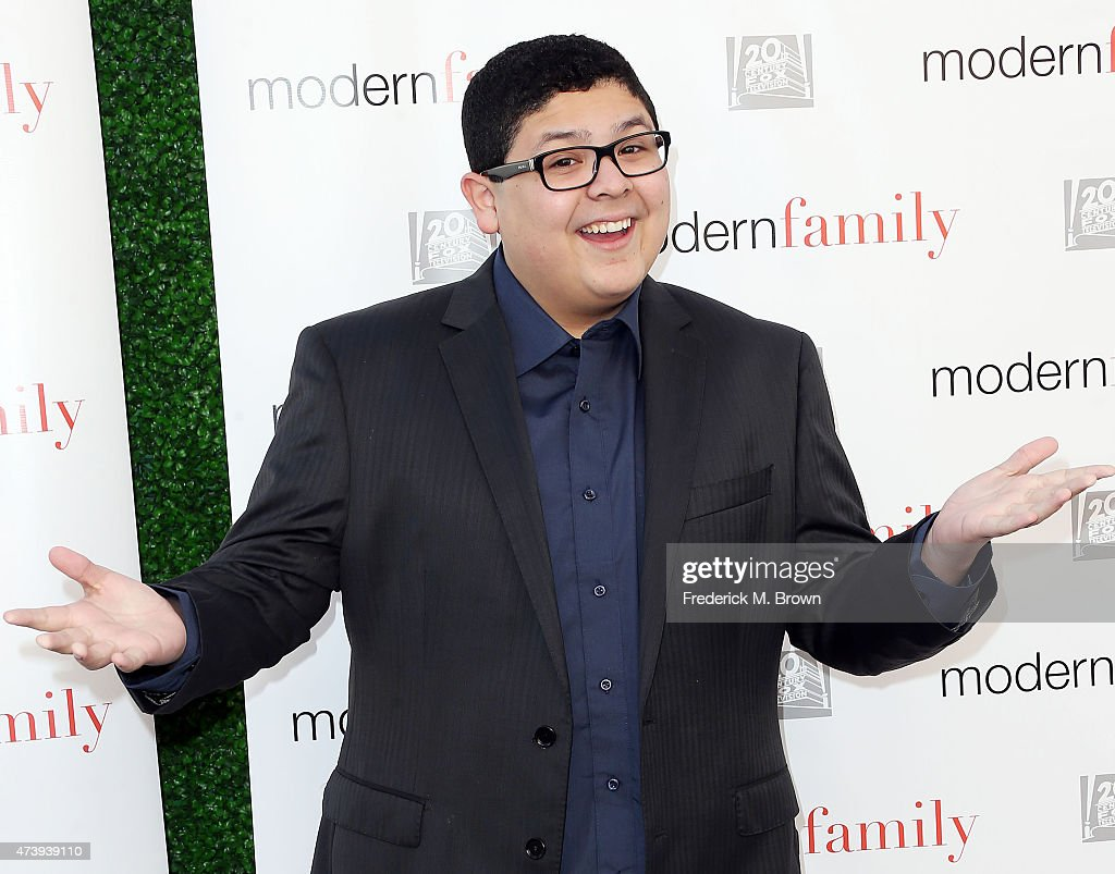 Actor Rico Rodriguez attends the ATAS Screening of the 'Modern Family' Season Finale 'American Skyper' at the Fox Studio Lot on May 18, 2015 in Century City, California.