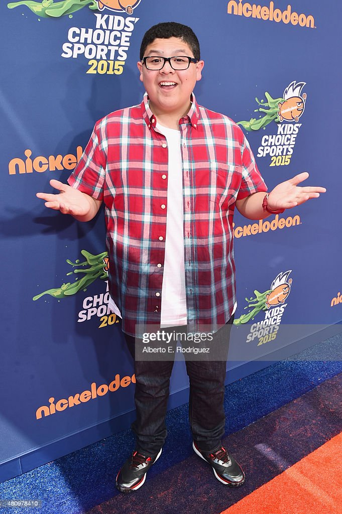 Actor Rico Rodriguez attends the Nickelodeon Kids' Choice Sports Awards 2015 at UCLA's Pauley Pavilion on July 16 2015 in Westwood California