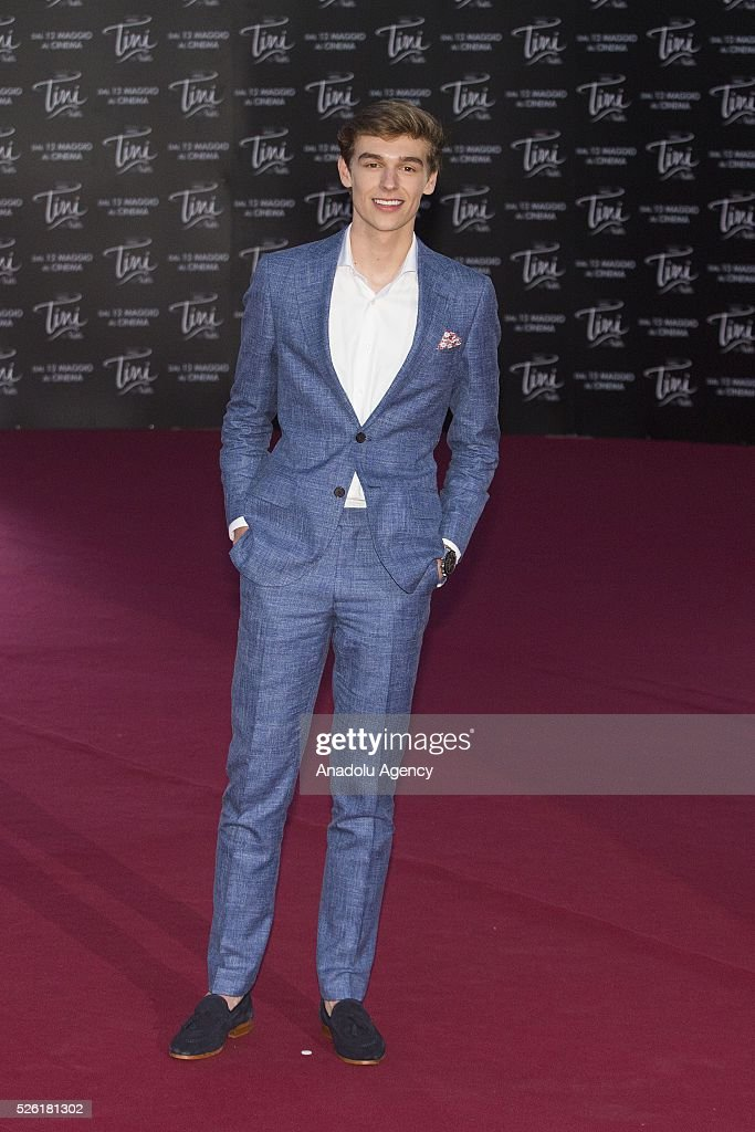 Actor Ridder Van Kooten attends the premiere of Tini-La nuova vita di Violetta at Auditorium Parco della Musica on April, 29, 2016 in Rome, Italy.