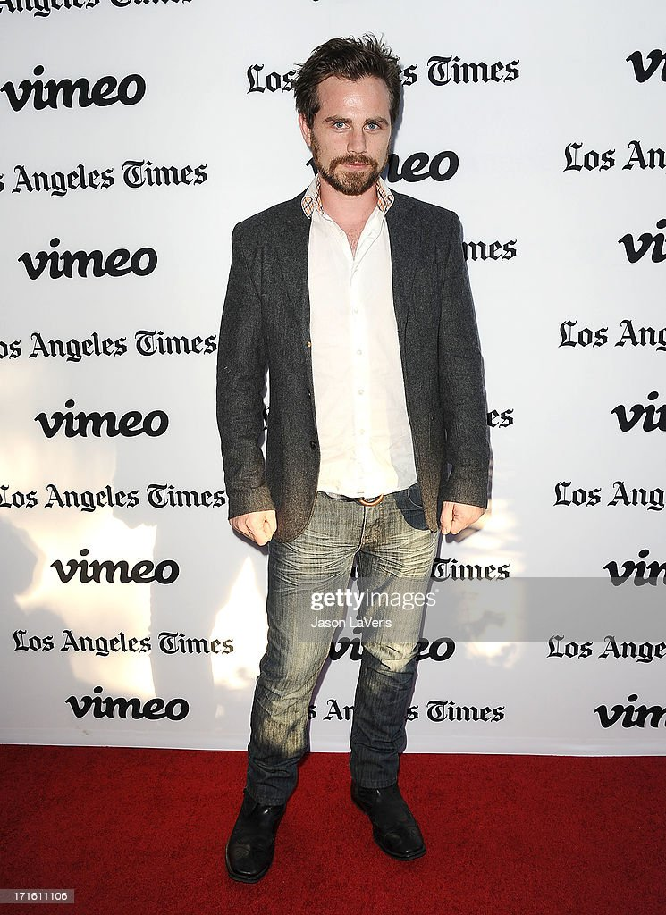 Actor Rider Strong attends the premiere of 'Some Girl' at Laemmle NoHo 7 on June 26 2013 in North Hollywood California