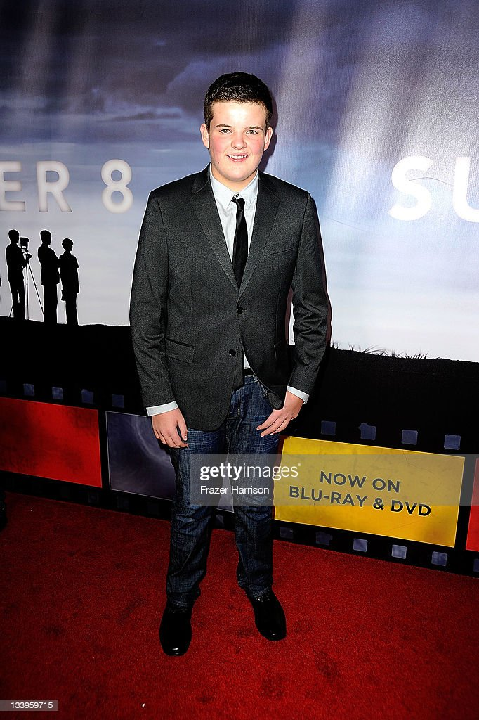 Actor Riley Griffiths arrives at Paramount Pictures' 'Super 8' Blu-ray and DVD release party at AMPAS Samuel Goldwyn Theater on November 22, 2011 in Beverly Hills, California.