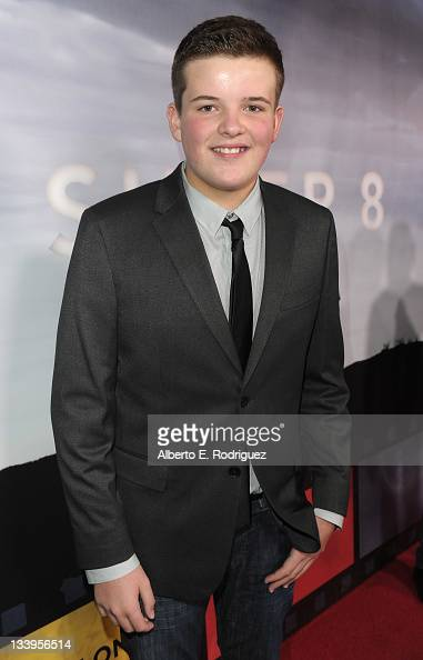 Actor Riley Griffiths arrives to Paramount Pictures' 'Super 8' Bluray and DVD release party at AMPAS Samuel Goldwyn Theater on November 22 2011 in...
