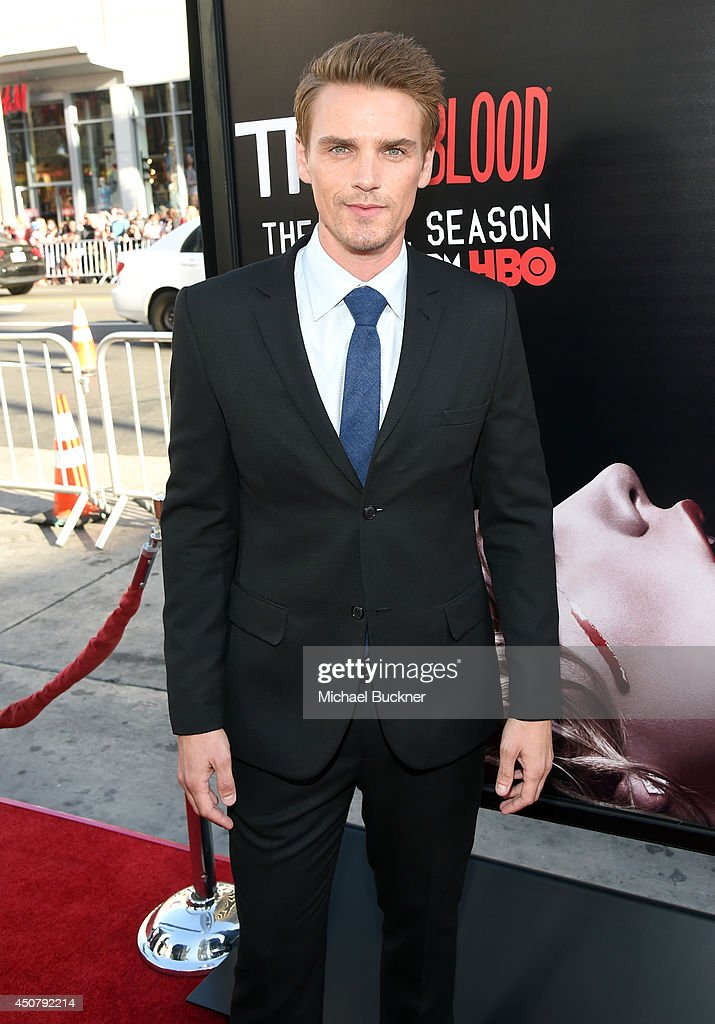 Actor <a gi-track='captionPersonalityLinkClicked' href=/galleries/search?phrase=Riley+Smith&family=editorial&specificpeople=226545 ng-click='$event.stopPropagation()'>Riley Smith</a> attends Premiere Of HBO's 'True Blood' Season 7 And Final Season at TCL Chinese Theatre on June 17, 2014 in Hollywood, California.