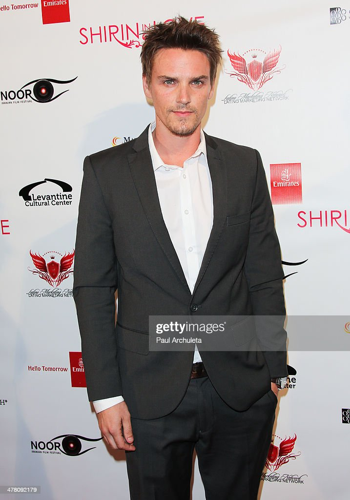 Actor <a gi-track='captionPersonalityLinkClicked' href=/galleries/search?phrase=Riley+Smith&family=editorial&specificpeople=226545 ng-click='$event.stopPropagation()'>Riley Smith</a> attends the premiere of 'Shirin In Love' at Avalon on March 11, 2014 in Hollywood, California.