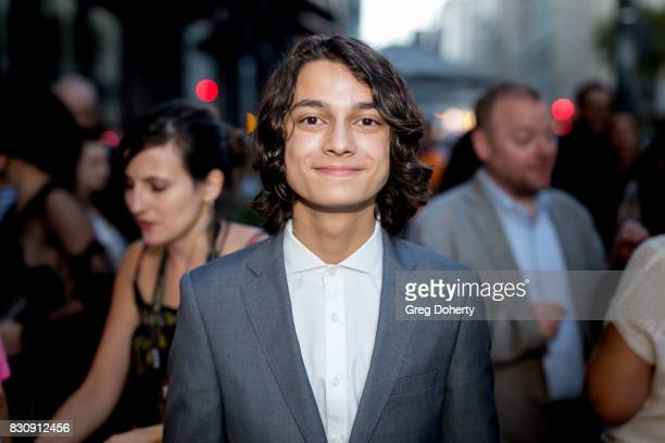 Actor Rio Mangini arrives for the 2017 Sundance NEXT FEST at The Theater at The Ace Hotel on August 12 2017 in Los Angeles California