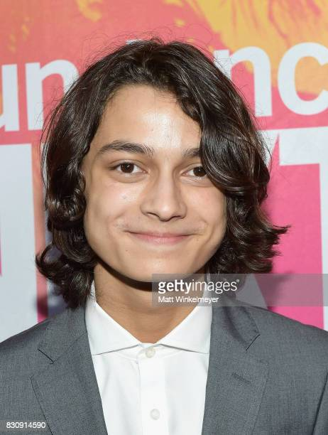Actor Rio Mangini attends 2017 Sundance NEXT FEST at The Theater at The Ace Hotel on August 12 2017 in Los Angeles California