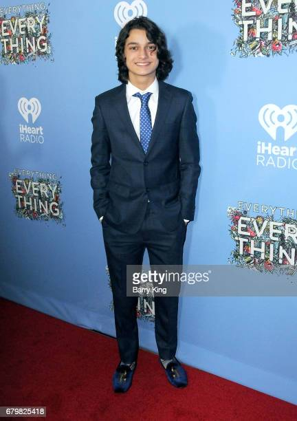 Actor Rio Mangini attends screening of Warner Bros Pictures' 'Everything Everything' at TCL Chinese Theatre on May 6 2017 in Hollywood California