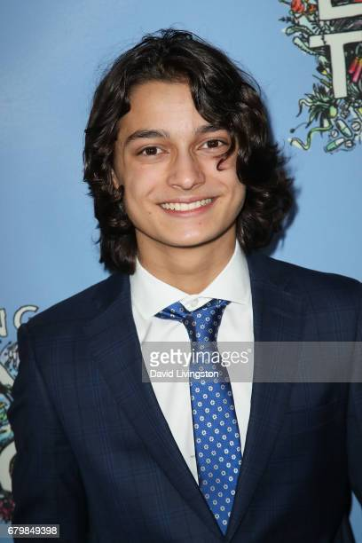 Actor Rio Mangini attends the screening of Warner Bros Pictures' 'Everything Everything' at the TCL Chinese Theatre on May 6 2017 in Hollywood...