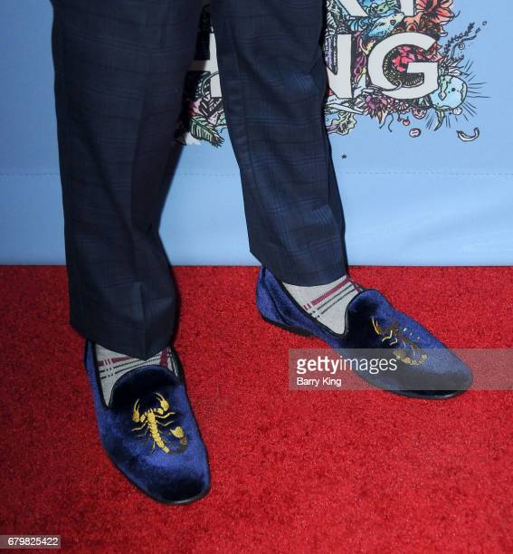 Actor Rio Mangini shoe detail attends screening of Warner Bros Pictures' 'Everything Everything' at TCL Chinese Theatre on May 6 2017 in Hollywood...