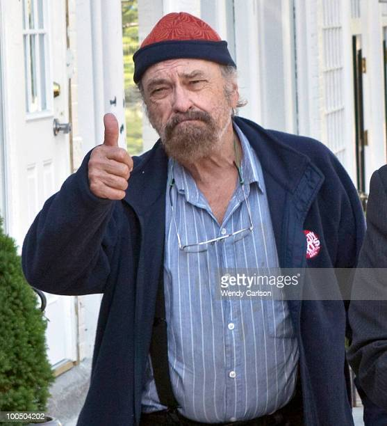 Actor Rip Torn attends court at Litchfield Superior Court May 25 2010 in Litchfield Connecticut Torn is charged with breaking and entering a bank...