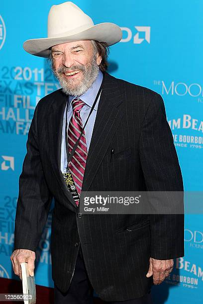 Actor Rip Torn walks the red carpet during the Texas Film Hall of Fame Awards at Austin Studios on March 10 2011 in Austin Texas