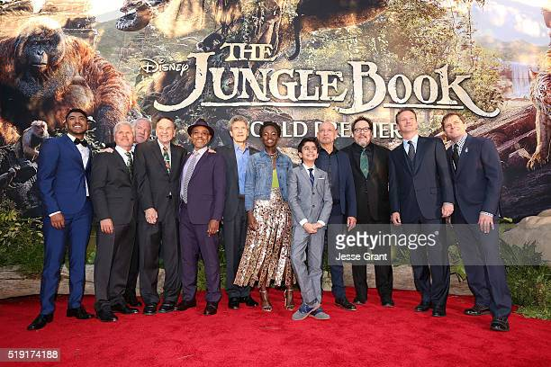 Actor Ritesh Rajan producer Brigham Taylor composer John Debney composer Richard Sherman actor Giancarlo Esposito Chairman of the Walt Disney Studios...