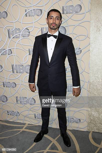 Actor Riz Ahmed arrives at HBO's Official Golden Globe Awards after party at the Circa 55 Restaurant on January 8 2017 in Los Angeles California