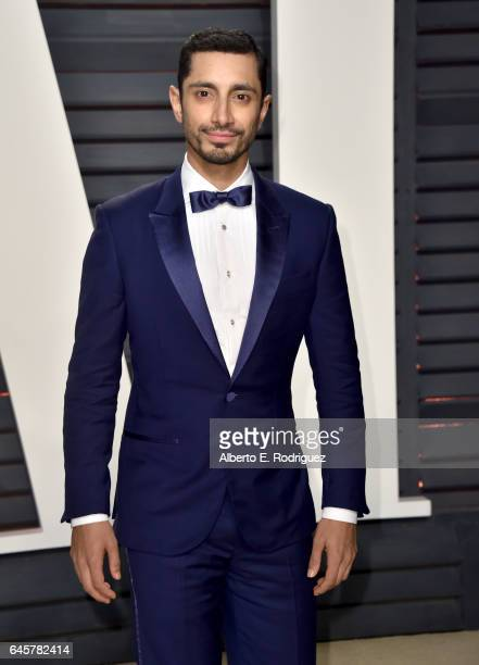 Actor Riz Ahmed attends the 2017 Vanity Fair Oscar Party hosted by Graydon Carter at Wallis Annenberg Center for the Performing Arts on February 26...
